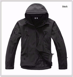 Wholesale Men S Military Jacket Tad - High quality Lurker Shark skin Soft Shell TAD V 4.0 Military Tactical Jacket Waterproof Windproof Army bomber jacket Clothing