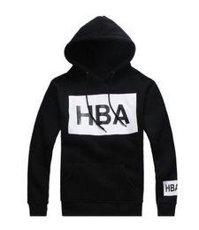 Wholesale Girls Gray Sweatshirt - HBA men women Thin Hooded Sweatshirts Thick Sport hoodies Boys Girls Lovers Hip-hop coat Sweatshirts