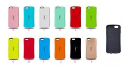 Wholesale Iface Shockproof Iphone Case - New Iface Candy Soap Slim gel TPU + PC case for Iphone 5 C 5C Iphone5C SE 5 5S 6 6S  Plus Full Protective skin hard shockproof Glossy luxury