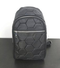 Wholesale Bottom Cover - High-quality 2017 NEW fashion Euro size Mesh Cover balr backpack men&women new brand bag round bottom long backpack