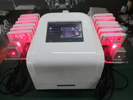 Wholesale Diode Laser I Lipo - 650nm Lipolaser Machine Diode Lipo Laser Slimming Machine I Lipo Laser Fat Removal Laser Liposuction Machine With 16 Paddles