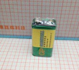 Wholesale 9v 6f22 Alkaline Battery - Free shipping GP super 9V carbon battery 9V battery GP1604G-S1 6F22 2pcs lot battery operated warning lights