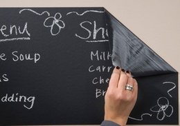 Wholesale Graphic Markers - A4 Adhesive Chalkboard Blackboard Stickers Sheets White Liquid Chalk Marker Pens