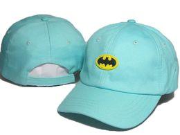 Wholesale Cheap Batman - Cheap blue Cotton Summer Embroidered batman Marvel Hats For Men Cool Brand Designer Hip Hop Baseball Cap Women Golf Hat Sport Casquette DDMY