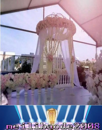 Wholesale Wholesale Artificial Wreath Supplies - NEW 39 Inch 1M long Orchid Wisteria Vines White Silk Artificial Flower Wreaths For Wedding Party Decoration Supplies MYY
