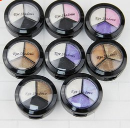 2019 set de maquillaje de sombra de ojos desnuda A prueba de agua Cosmético Ahumado Set 3 Colores Profesional Natural Mate Sombra de Ojos Paleta de Sombras de Ojos Desnudo Desnudo Brillo Envío Gratis set de maquillaje de sombra de ojos desnuda baratos