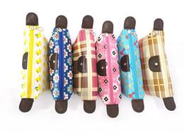 impresiones de paneles múltiples Rebajas Bolsas de cosméticos Estampado de flores Bola de masa hervida Bolso grande del maquillaje Paquetes de las mujeres Bolso del organizador del lavado del nilón bolso