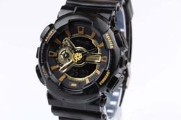 Wholesale Hooks Plastics - New 2016 watches men luxury brand ,GA110 men sports watch men's fashion brand watch digital and analog watches