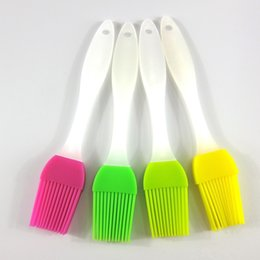 Wholesale High Temperature Cooking Oil - New 1pcs silicone Brush high temperature resistant silicone brush baking tools bbq Barbecue oil brush cooking tools