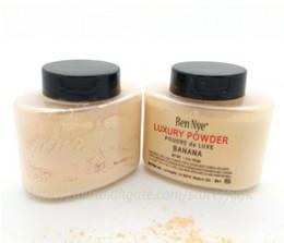 Wholesale Looser Powder - 2017 hot Ben Nye Luxury Powder 42g New Natural Face Loose Powder Waterproof Nutritious Banana Brighten Long-lasting