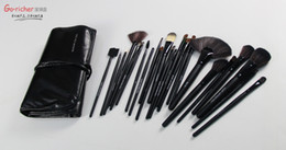 Wholesale Popping Rod - 2016 black rod with horsehair brush 24pcs set no logo professional hot European and American pop free shipping