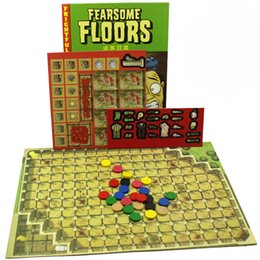Wholesale Play Game Funny - Fearsome Floors Board Game 2-7 Players Cards Games Easy To Play Funny Game For Party Family With Free Shipping