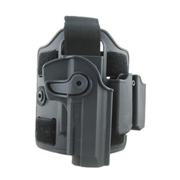 Wholesale Imi Tactical Holster - Tactical gun holster with Leg panel Holster for M92 Airsoft IMI Rotary Holster+magazine carrier