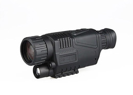 Wholesale night optics - NEW 5x Night Vision Rifle Scope FOR Hunting Scopes Optics in Night for hunting Free Shipping CL27-0012