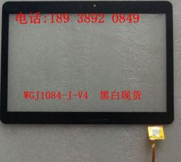 "Porcellana da tavoletta online-All'ingrosso- WGJ1084-J-V4 Tablet touch screen China-Tablet PC 10,1 ""sensore di vetro WGJ1084-J-v3 WGJ1084-J"