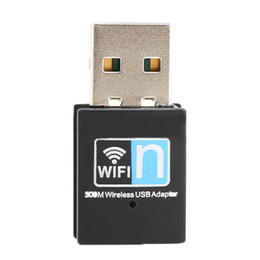 Wholesale Ethernet Wireless Cards - S5Q Premium 300Mbps 802.11 b g n Wireless Card Mini Wireless USB Wifi Wlan Adapter AAAGBQ