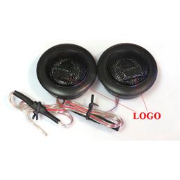 Wholesale Tweeter Speakers Car Audio - Super Power Car Tweeters Loud Audio Speaker High Efficiency Car Mini Dome Tweeters for Universal Car speaker System