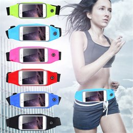 Wholesale edge series - Sports Running Waist Cases For Samsung Galaxy S7 Edge Note Series Iphone SE 5S 6 6Plus