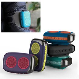 Wholesale Doss Asimom Bluetooth Speakers - Original Doss Asimom M15 Smart Wearable Pedometer Bluetooth Speaker with Fitness record,FM radio TF card Multifunction Speaker