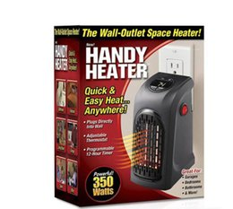 Wholesale Infrared Bathroom Heaters - Mini Electric Home Handy Heater Stove Hand Warmer Plug-In 350W Wall Heater Hotel Kitchen Bar Bathroom Car Travelling Christmas Gifts by DHL