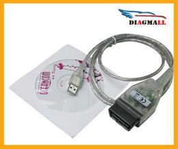 Wholesale Toyota J2534 Cable - Mini VCI J2534 FOR TOYOTA TIS Techstream V10.30.029 Diagnostic Cable MINI-VCI Free Shipping