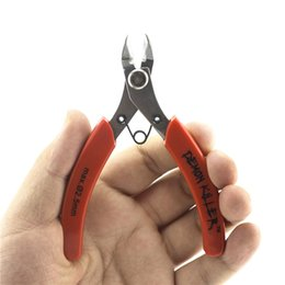 shear cutter Coupons - Authentic Demon Killer Wire Cutter Plier Steel DIY Tools Flush Nipper Mini Clamp Cutting Shears Tool For Coil Wick Wire Atomizer RDA RBA