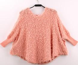 Wholesale Thin Lace Sweater - Wholesale-Fashion women knitting sweater women's bat sweater pull femme free shipping