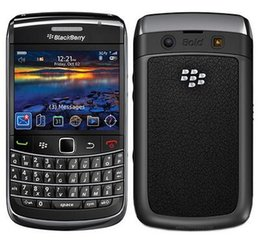 Wholesale Quad Band Mobile Unlocked - Original BlackBerry 9700 Unlocked Mobile Phone 3G Smartphone 3.2MP Camera Quad-Band GPS WIFI refurbished phone