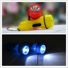 Wholesale Water Bottle Key Chain Holder - Fashion LED Flashlight keychains Pendant Rings Purse Bag Charms Halloween Keyrings Hot Novelty Key Chains Personalized Gifts Y107