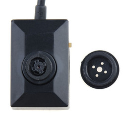 Wholesale Meter Bank - HD 720P Mini Hidden Pinhole Camera Security DVR With 2 Meters Cable Spy Button Camcorder Video Recorder Support Working with Power Bank