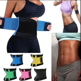 Wholesale Wholesale Tummy Shaper Corset - Waist Trainer Cincher Control Shaper Corset Shapewear Body Tummy Sport Fitness Waist Cincher Waist Trimmer Slimming Belt KKA2653