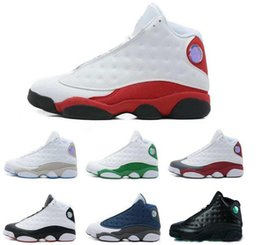 Wholesale Cheap Womens Designer Shoes - Top Quality Wholesale Cheap NEW Retro 13 Mens Basketball Shoes Sneakers 13s Womens Sports Trainers Running Shoes Mens Designer Shoes 8-13