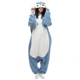 Deutschland Neue Fabrik Marke Heiße Verkäufe Erwachsene Eule Pyjamas Unisex Nachtwäsche Liebhaber Onesie Pyjamas Nachteule Cosplay Kleid Cartoon Tiere Eule Overall cheap jumpsuits sales Versorgung