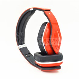 Wholesale Tablet Head Phones - SKY-001 Wireless Head-earphone High Quality 4.0 Bluetooth Connected TF Card Support Colorful Earphone For Mobile Phone and Tablet PC