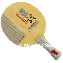 Wholesale Wooden Dragons - HRT Inorganic Dragon 4 (5 Hard Wooden + 2 Carbon) OFF+ Excellent Table Tennis Blade for PingPong Racket