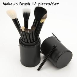 pequenas escovas de kit de maquiagem Desconto 2016 Ana Pincel de Maquiagem 12 peças Kit de Escova de Maquiagem Profissional Kit DHL Frete grátis