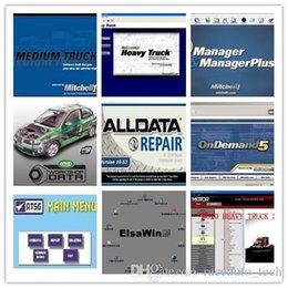 Wholesale Isuzu Truck Repair - alldata and mitchell software alldata 10.53+mitchell on demand+ATSG+vivid workshop+ heavy truck 1tb hdd 49in1 fits 32&64bit good
