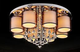 2019 iluminação legal para sala de crianças Nova listagem sala de estar lâmpada led sala de cristal quarto acolhedor restaurante luzes redondas luzes de teto de alta-grade