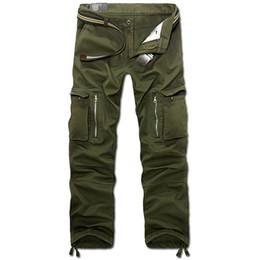 Wholesale military pants black - Tactical Pants Male 101 Airborne Casual Plus Size Cotton Trouser Multi Pocket Military Style Army Men's Cargo Pants