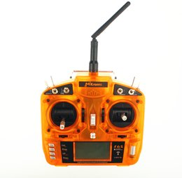 Wholesale Transmitter Model Receiver - 2.4GHz DSM2 Compatible 6CH Transmitter w 10 Model Memory and 2-Pos Switch W S603 Receiver Surpass DX6i JR FUTABA for aircrafts