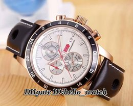 Wholesale Miglia Watch - Cheap Brand Luxury New Classic Racing Superfast 168550-3001 Chronograph Quartz 1000 MIGLIA Gent Watch Black Dial Mens Leather Strap Watches