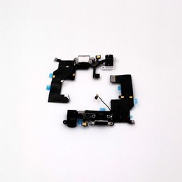 Wholesale Headphone Parts - For iphone 5G 5S Lightning Connector or Dock and Headphone Jack for replacement or repair parts