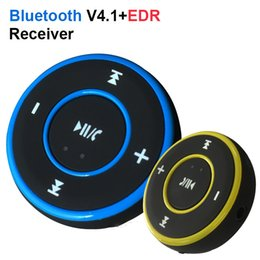 Wholesale Mini Headphone Speaker - AD-A26 Mini Wireless Car Bluetooth Receiver AUX Music Stereo Audio Adapter 3.5mm Aux Jack for Headphone Speaker OTH081