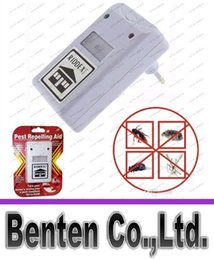 Wholesale Control Mosquitoes - NEW RIDDEX electronic pest repeller pest repelling aid ultrasonic   electromagnetic Anti Mosquito Mouse Insect Cockroach Control LLFA