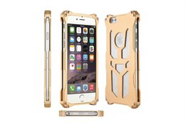 Wholesale Cell Phone Metal Armor - For iphone 6 6s 6 Plus Cases Thor Ironman Armor Design cell phone Bag Cover With Retail Box Shockproof Metal Aluminum Cell Phone Cases