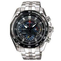 lunette gros personnalisé Promotion Livraison directe EF-550RBSP-1AV EF-550RBSP-1A EF 550RBSP 550 Montre de sport chronographe pour homme 1/20 secondes Montre de quartz pour homme en acier complet