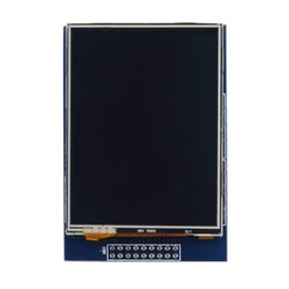 Wholesale Touch Screen Modules - Wholesale-LCD Modules Worldwide 1pcs 2.8 Inch TFT LCD Display Touch Screen Module with SD Slot For Arduino UNO