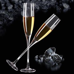 Wholesale Lead Crystal Goblet - Crystal goblet lead-free stemware champagne flute wine glass its so much elegant