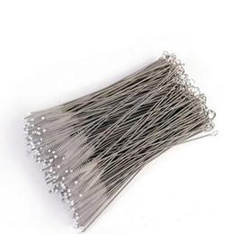 Wholesale Catheter Tube - Straw Brushes Bottle Cup Catheter Tube Spiral Soft Hair Brush Feeding Nursing Bottle Cleaner Tidy Tools
