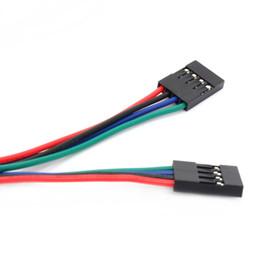 Al por mayor-70cm 4Pin 4 Pin hembra a cable Jumper Cable Dupont para impresora 3D # D046 desde fabricantes